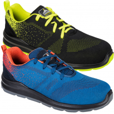 Aire Steelite Lightweight Breathable Fabric Trainers S1P SRC