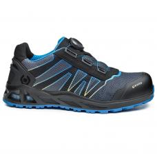 K-Energy Kaptiv Grey Blue Safety Trainer Shoe