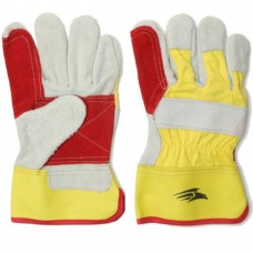 Double Palm and Finger Reinforced Canadian Chrome Rigger Glove