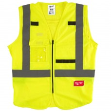 Carry More Zip Up Class 2 Vest with Harness Access
