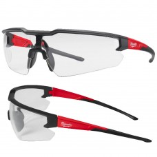 Enhanced Milwauke Clear Lens Sports Style Safety Glasses
