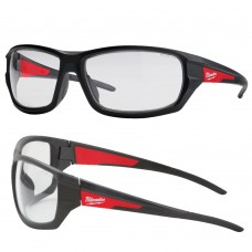 Performance Milwauke Clear Lens Heavy Duty Safety Glasses