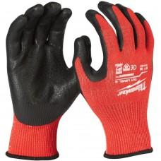 Cut C Smartswipe Milwauke Textured Nitrile Coated Safety Gloves