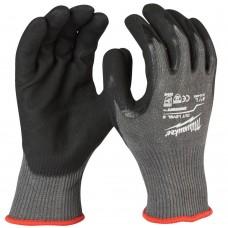 Cut E Milwaukee Smartswipe Double Nitrile Sharp Material Gloves