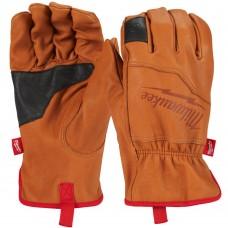 Milwauke Top Grain Goatskin Leather Touch Screen Gloves