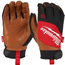 Milwauke Hybrid Goatskin Leather Breathable, Smartswipe Gloves
