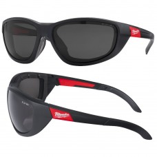 Milwauke Polarised Lens with Foam Seal Heavy Duty Safety Glasses