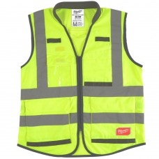 Premium Carry More Padded Collar Class 2 Vest with Harness Access