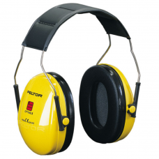 Peltor Optime Zone 1 Yellow Adjustable Headband Ear Defender SNR 27db