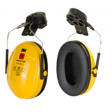 Peltor Optime  Zone 1 Yellow Helmet Mounted Ear Defender SNR 26db