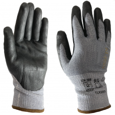 Cut F Highest Cut Resistant Klass TEK6000 Nitrile Palm Safety Gloves