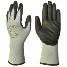 Ultra Lightweight 18 gauge Cut 3 PU Palm on Tsunooga Liner Klass Gloves 2341