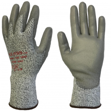 TEK1000 Tsunooga PU Palm Coat Cut Level 4 Safety Gloves 4443