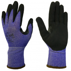 Klass Tek Blue Cut 5 Safety Glove with Thumb Crotch