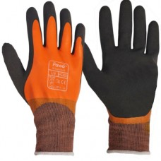 Pawâ Fully Coated Orange Latex & Foam Latex Grippy Palm