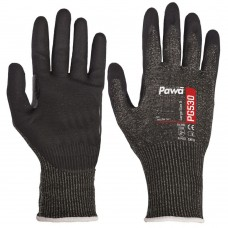 Breathable Pawâ ISO Test Cut D Micro Foam Nitrile Coated Palm Gloves