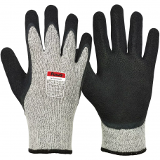 Cut Level D Cold Work Latex Coated Pawa Safety Gloves