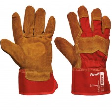 Premium Split Leather Pawa Rigger Gloves