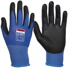 Pawa COOLMAX® Wicking Nitrile Palm Coated  Work Gloves
