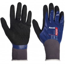 Oil and Heat Resistant Pawâ PG202 Sandy Nitrile Fully Coated Gloves