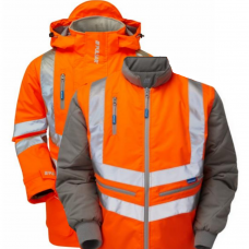 Pulsar Breathable Railspec Coat & Bodywarmer Combo