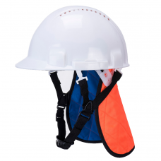 Evaporative Cooling Hard Hat Liner with Neck Shade