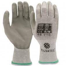 Tilsatec Cut D Ultra Lightweight 18 gauge Rhinoyarn PU Coated Gloves