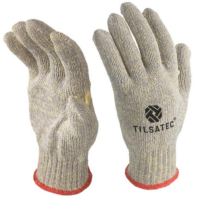 Tilsatec Uncoated Cut F Heat Resistant with Thumb Crotch Gloves