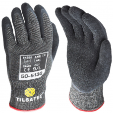 Tilsatec Latex Coated Rhino Yarn™ Cut E Medium Weight Safety Gloves