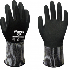 Wonder Grip® Oil Double Palm Coating Nitrile Glove