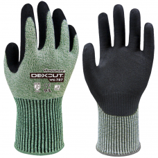 Wonder Grip®787 Dexcut ™ Cut Level 5 Single Nitrile Grip Gloves