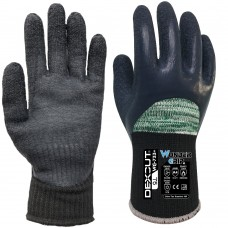 Dexcut® WG-733 Plus Latex Knuckle Coated Cut D Cold and Hot Gloves