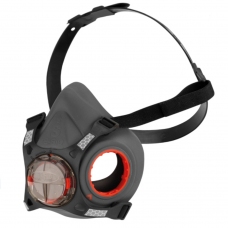 JSP Press to Check Dual Filter 1/2 Mask Respirator Body (no filters)