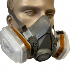 3M 6000 Reusable Half Mask c/w A2 P3 R Filters