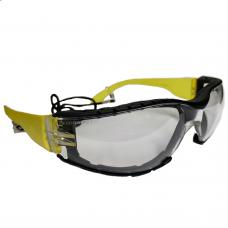 Foam Seal Anti Fog / Scratch Wraparound Glasses + Cord