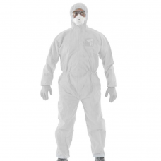 Microguard 1500 Type 5/6 Taped Seams Disposable Laminated Coverall White