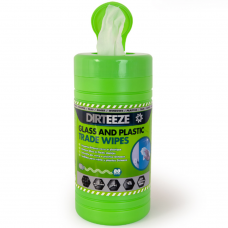 Dirteeze Glass and Plastic Trade Wipes Tub x 80 wipes