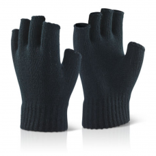 Acrylic Fibre Thermal Properties Fingerless Gloves