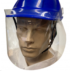 Covid Face Shield Visor for Hard Hats (no carrier required)