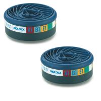 9400 ABEK1 Moldex Gas & Vapour Cartridges for 7 & 9000 masks / pair