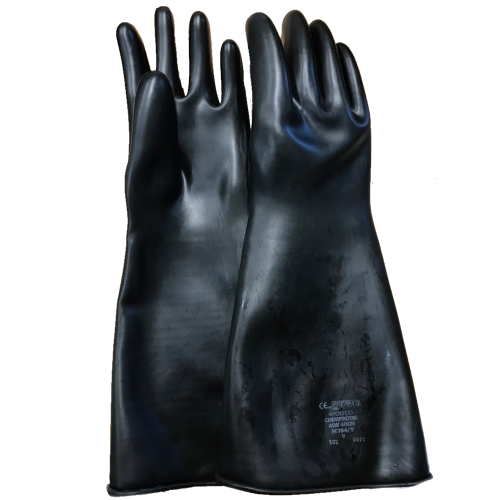 Polyco Chemprotec Heavyweight Chemical Resistant Gloves Size M-XL