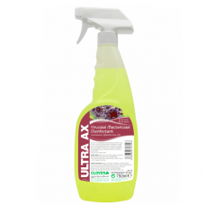 Virus and Bacteria Disinfectant Ultra AX 750ml (pack of 3)