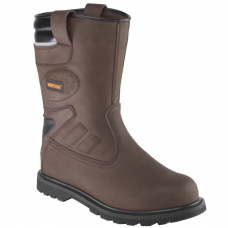 PSF Worktough Brown Safety Rigger Site Boot