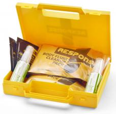 2 Application Biohazard Body Fluid Spill Kit in carry case