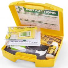 Combination Sharps & Body Fluid Kit Large