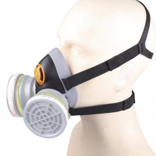 Delta 6400 Jupiter Respirator EasyLock Reusable Mask Body Twin Filter