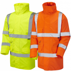 Leo Tawstock Hi Vis Anorak Class 3  Ris-3279-Tom Railway Use Certified (Orange only)