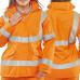 Ladies Tailored Fit Breathable Executive Hi Vis Coat