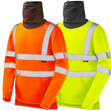 Sweatshirt with Snood Face Covering Class 3 and Railspec