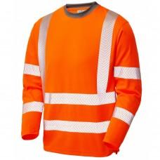Class 3 Long Sleeve COOLVIZ plus T Shirt Railspec Orange